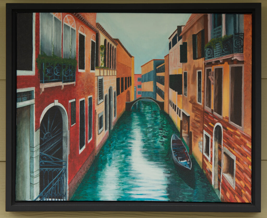 Venice. Acrylic on canvas, 2015/2016